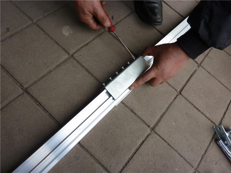 高度和长度可定制新款 手摇替代电动 横幅升降杆会标杆升降系统