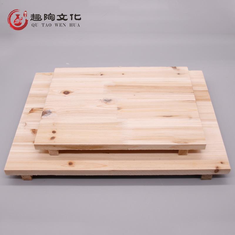 趣陶艺晾坯板泥工板木质垫板泥塑工具晒坯板雕塑底座陶吧