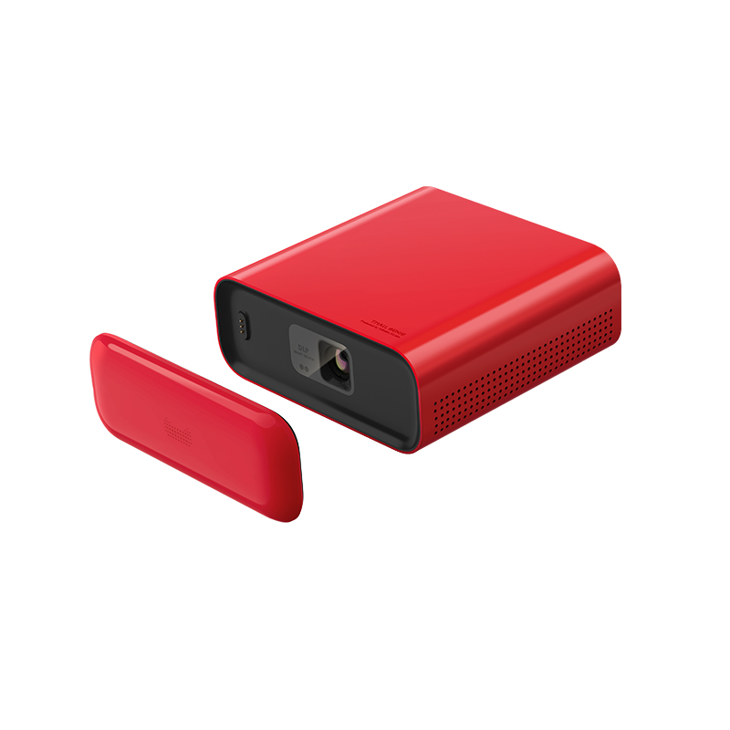 坚果制造 4K 1080P 支持 家庭影院 WIFI 家用小型便携迷你投影仪高清 天猫精灵智能投影仪小红盒 预售限时好价