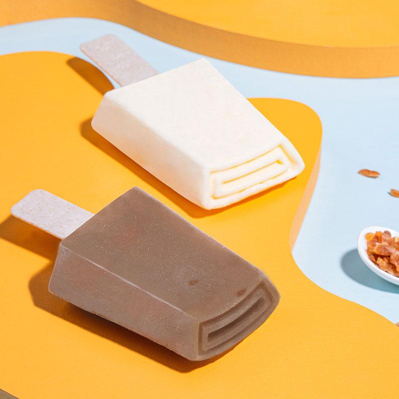 钟薛高X奈雪的茶 香乳莓鲜系列芝士草莓5特牛乳5冰淇淋雪糕10片装【图3】