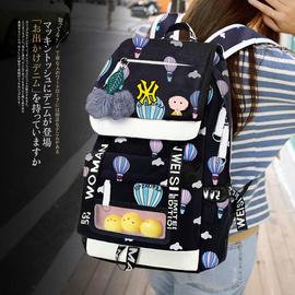 书包女韩版高中初中生学生双肩包旅行2019新款森系背包大容量