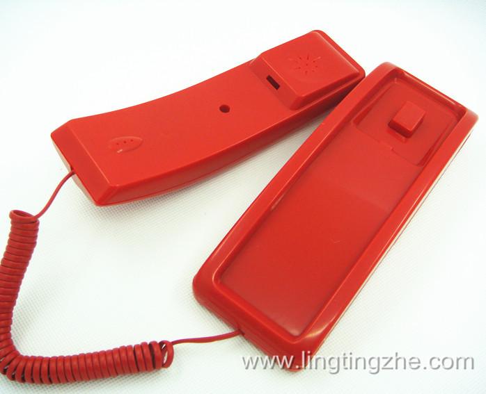 厂家直销 火灾报警消防电话火警电话机FIRE火情报警红色电话机