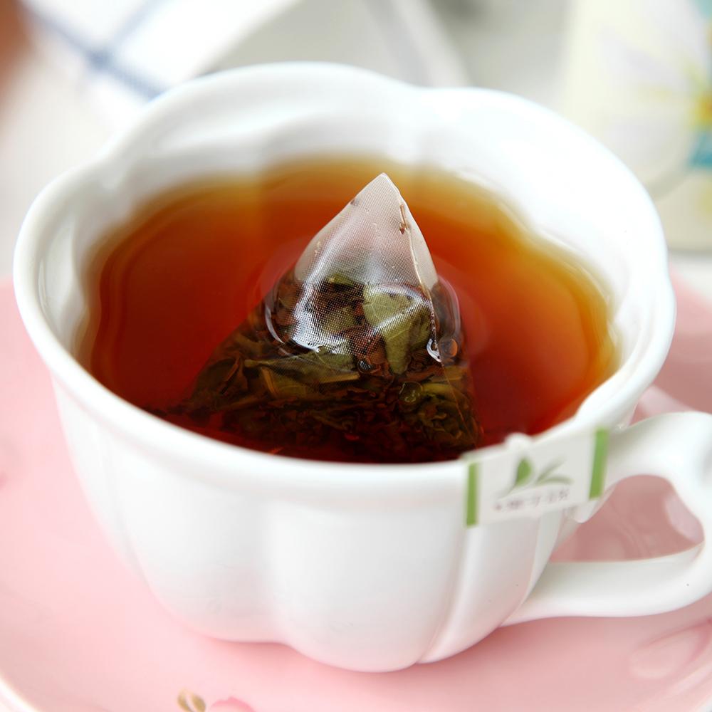 英式香草红茶花茶组合荷叶茶女生茶三角茶包茶叶罐装包邮 叶子说