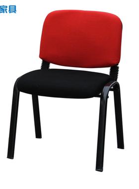 办公椅电脑椅 会客椅会议椅 蓝色黑色职工员工椅 培训椅新闻椅