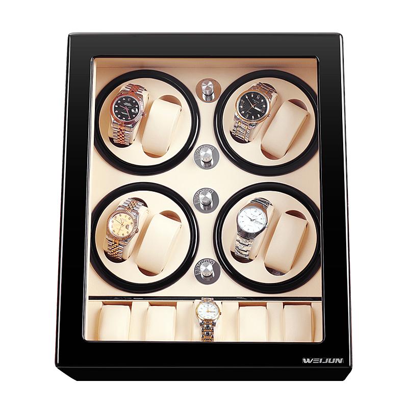 唯骏德国进口手表自动摇表器摇摆器机械表转动器上弦上链盒自转仪