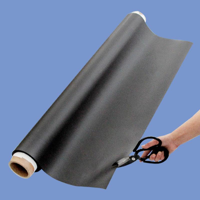 软磁铁磁性贴磁片卷材宽1200x厚0.5mm 教学吸铁石软磁片磁贴车贴