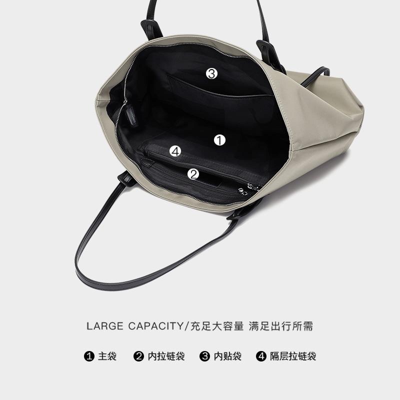 新款潮大容量高级感牛津布时尚简约托特包手提女包 大包包女  UR 2021
