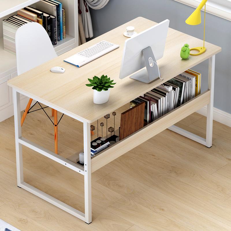 电脑桌台式家用桌子简约书桌现代写字桌经济型办公桌简易桌子