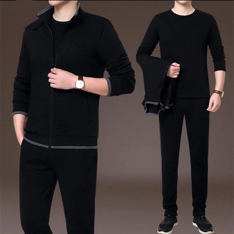 段郎传奇休闲运动套装男士韩版潮流帅气秋天一套衣服兩件套装