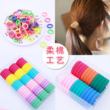 Children's hair decoration high elastic seamless hair rope girl baby does not hurt hair rubber band hair ring hair rope headpiece