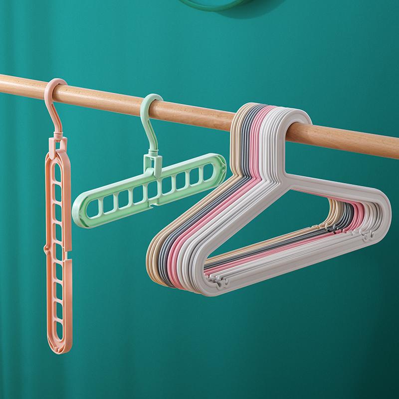 螺旋式晒被子衣架子学生多功能衣服凉旋转家用圆形晾衣架床单神器