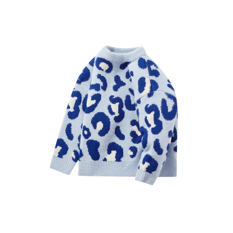 迷你巴拉巴拉儿童针织衫多彩亲子装 冬季新款男童女童外出毛衫  2020