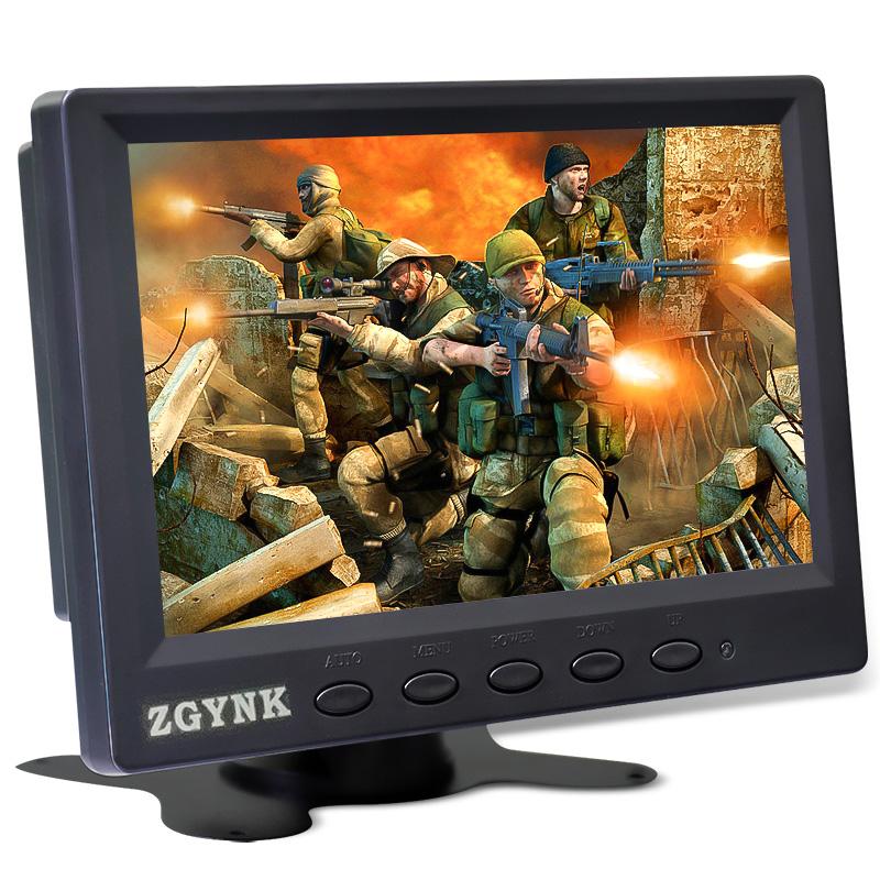 包邮7寸电脑小型显示器迷你高清便携式VGA工业安防液晶监控监视器