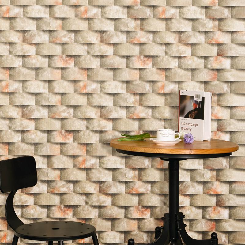 buy 3d stereo effect waterproof personalized retro brick brick brick