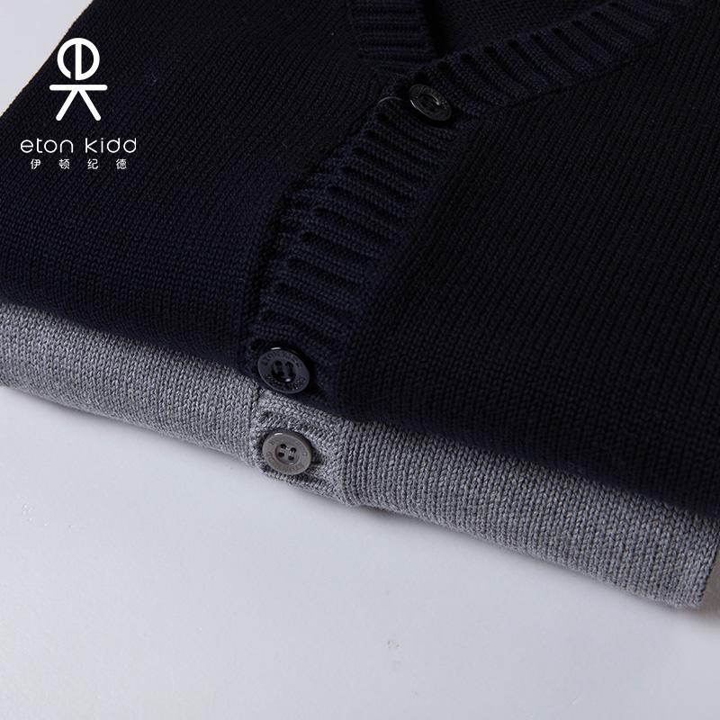 伊顿纪德校服 2019新品儿童英伦男女童开衫外套毛衣13M013