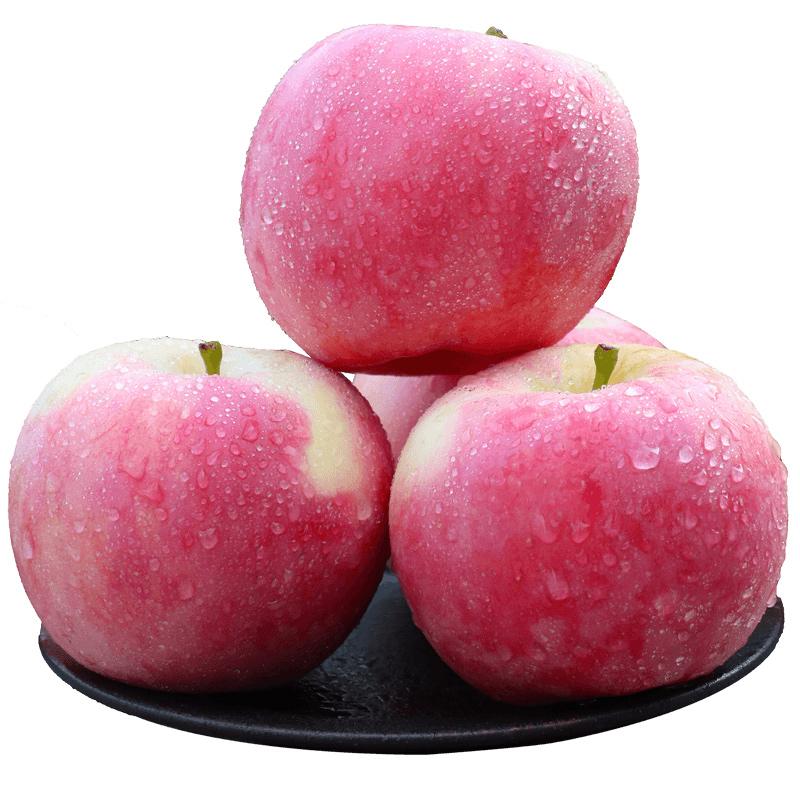 苹果水果新鲜当季水果丑苹果整箱10现季山西嘎啦青红富士斤带一十
