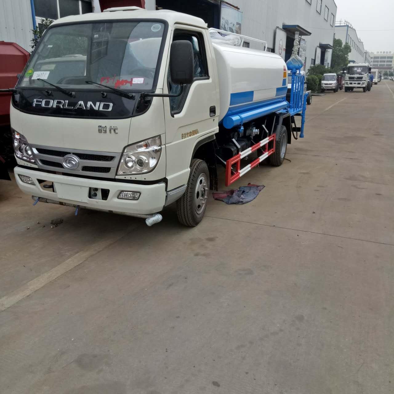 小型不上户洒水车现车  凯马福田5-10吨环卫绿化国产车厂家热销