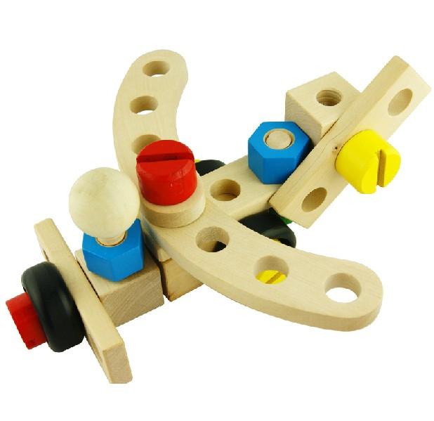 儿童拆装螺母车组装工程车可拆卸 宝宝拼装螺母组合螺丝智力玩具