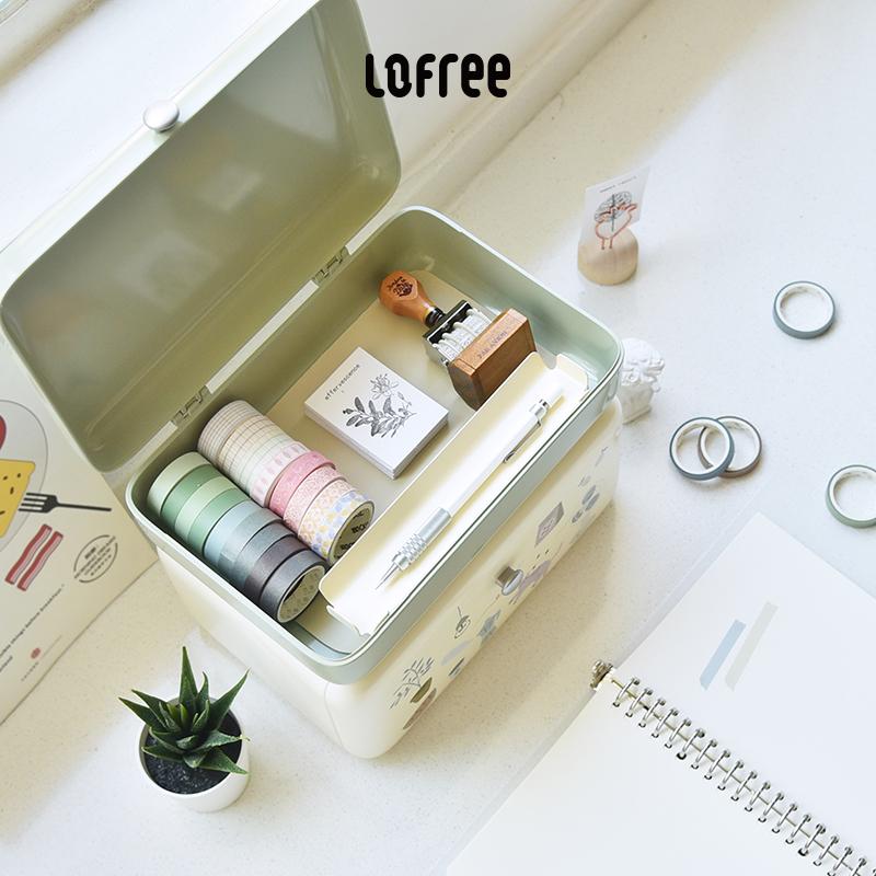 Lofree洛斐化妆品收纳盒,清新实用礼物送女朋友