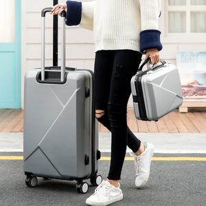 行李箱男潮万向轮韩版28寸24个性ins小型密码旅行箱女拉杆箱皮箱