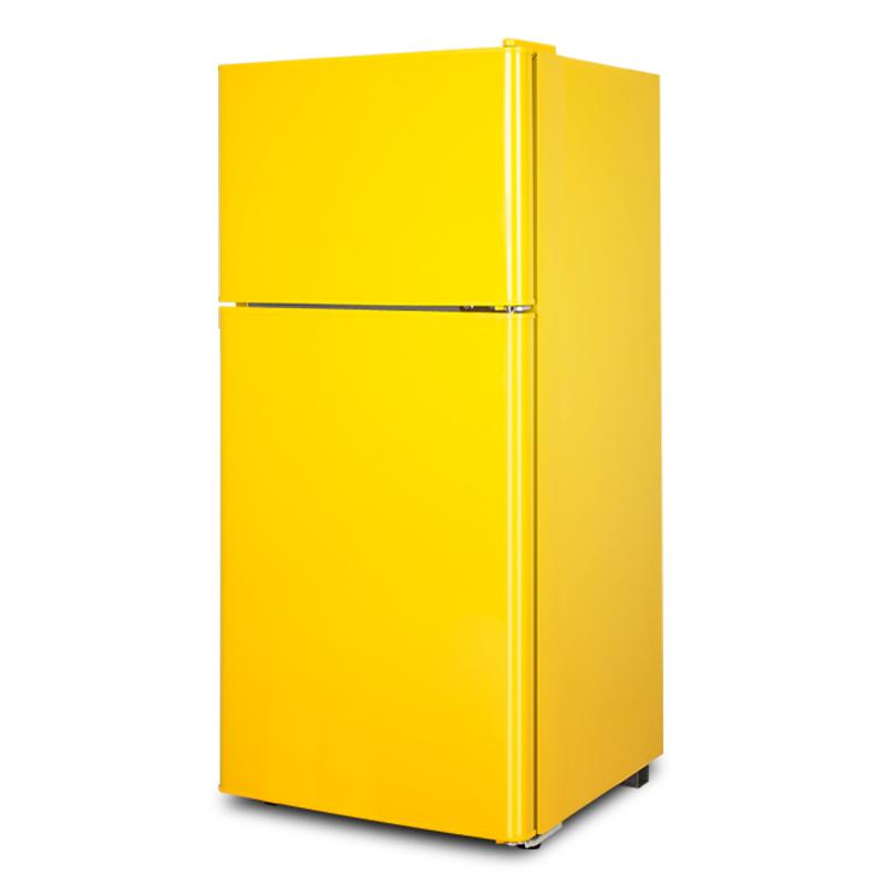 升小型三双门冷藏速冻家用宿舍学生二人租房电冰箱 138 118 小冰箱