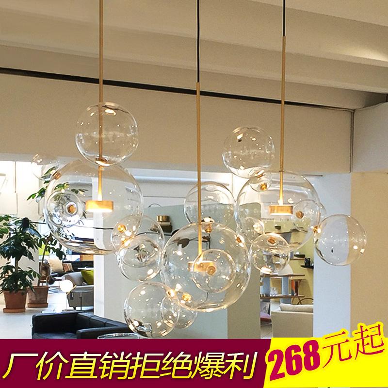 铺吧台商用led玻璃泡泡球灯