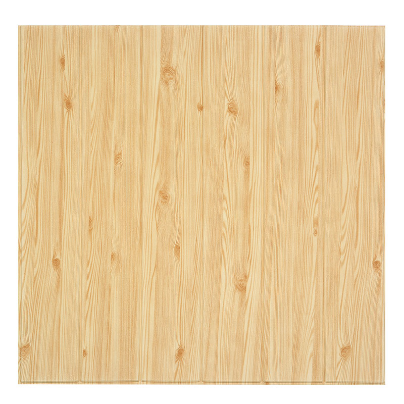 立体墙贴木纹自粘卧室墙裙护墙吊顶天花板泡沫防水贴纸 3d 自粘墙纸