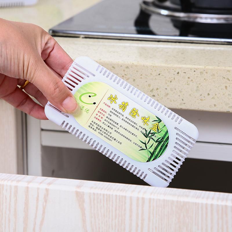 家用冰箱除味剂除臭剂持久竹炭包冰柜除味盒吸异味除湿活性炭包