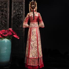 秀禾服2020新款新娘结婚禾秀服中式礼服嫁衣夏季禾服薄款秀和服女