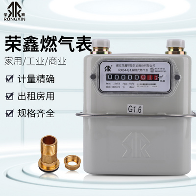 Household commercial industrial gas meter natural gas meter box liquefied gas flow meter gas meter G4G2.5