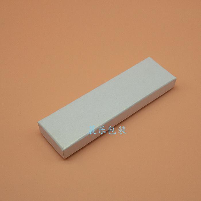 天地盖纸板礼品笔盒包装盒子钢笔盒圆珠笔盒单只印logo烫金工厂