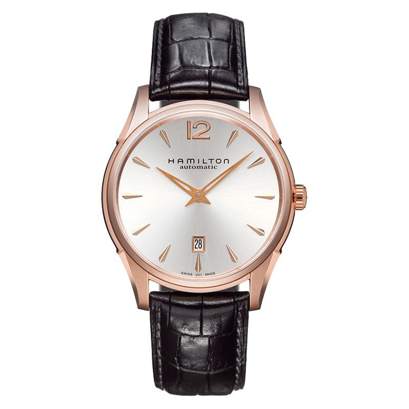 汉米尔顿Hamilton男士爵士系列机械表皮带男表手表腕表H38645755