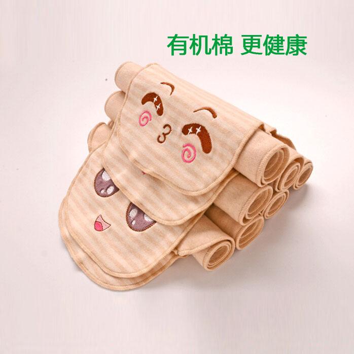 宝宝吸汗巾纯棉垫背巾儿童婴儿隔汗巾纱布加大幼儿园有机棉彩棉