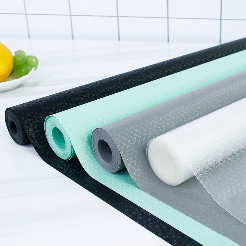 日本厨房橱柜抽屉垫纸防水抗菌衣柜防潮贴纸自粘柜子鞋柜防脏防油