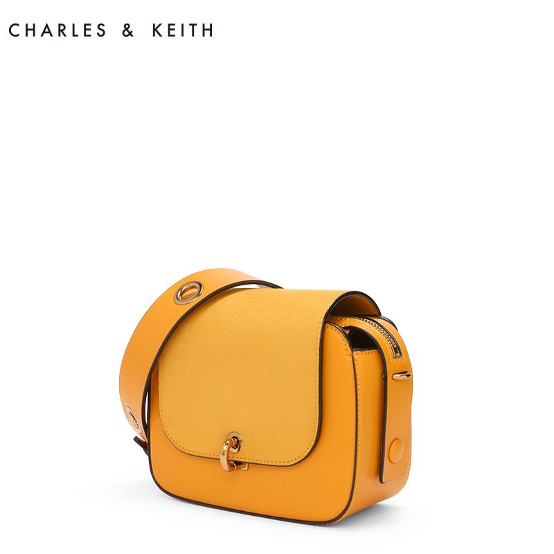 金属圆环肩带装饰单肩包 80670831 CK2 小方包 KEITH & CHARLES