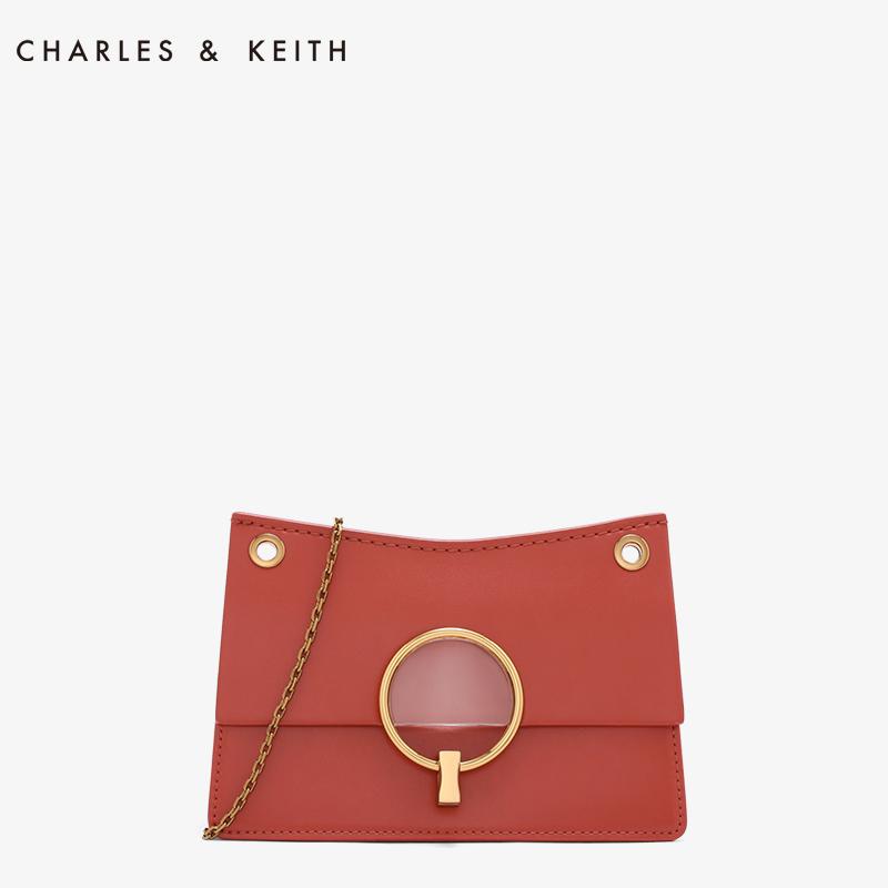 金属圆环璐彩女士链条包 20150781 CK2 单肩包 KEITH & CHARLES