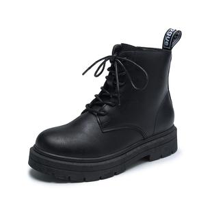 马丁靴女ins 夏薄款复古机车短靴春秋单靴潮酷百搭英伦风学生靴子