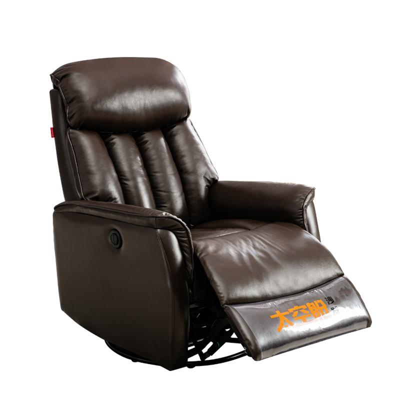 现代头等太空舱单人电动沙发椅子美容美甲美睫电脑懒人真皮摇可躺