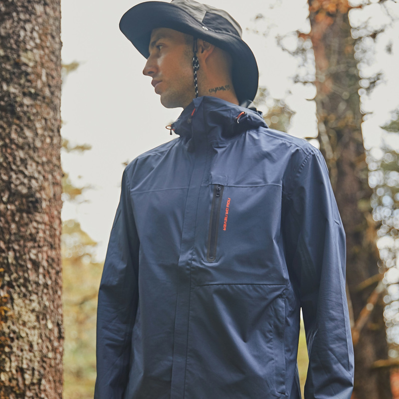 探路者冲锋衣潮男装春秋轻薄款户外单层防风防水休闲时尚风衣外套