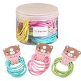 Children with hair rubber band little girl headband hair card hair clip princess baby hair ring small hair rope