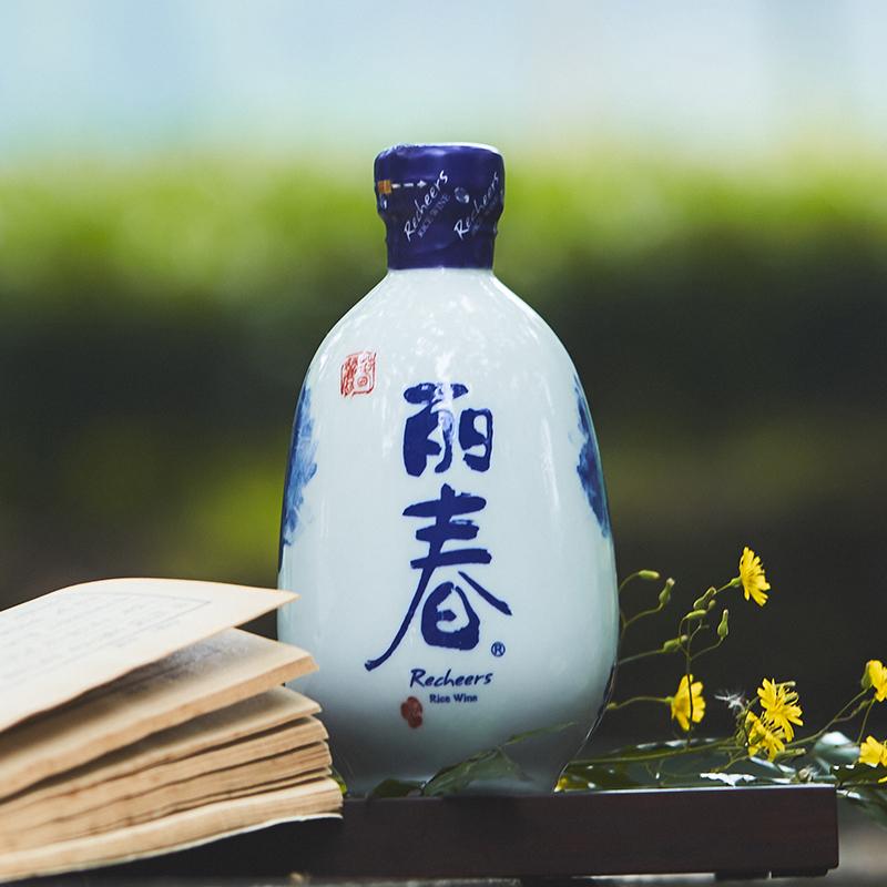 瓶装整箱手工冬酿干型低糖类黄酒 6 375ml 塔牌绍兴黄酒干型丽春酒