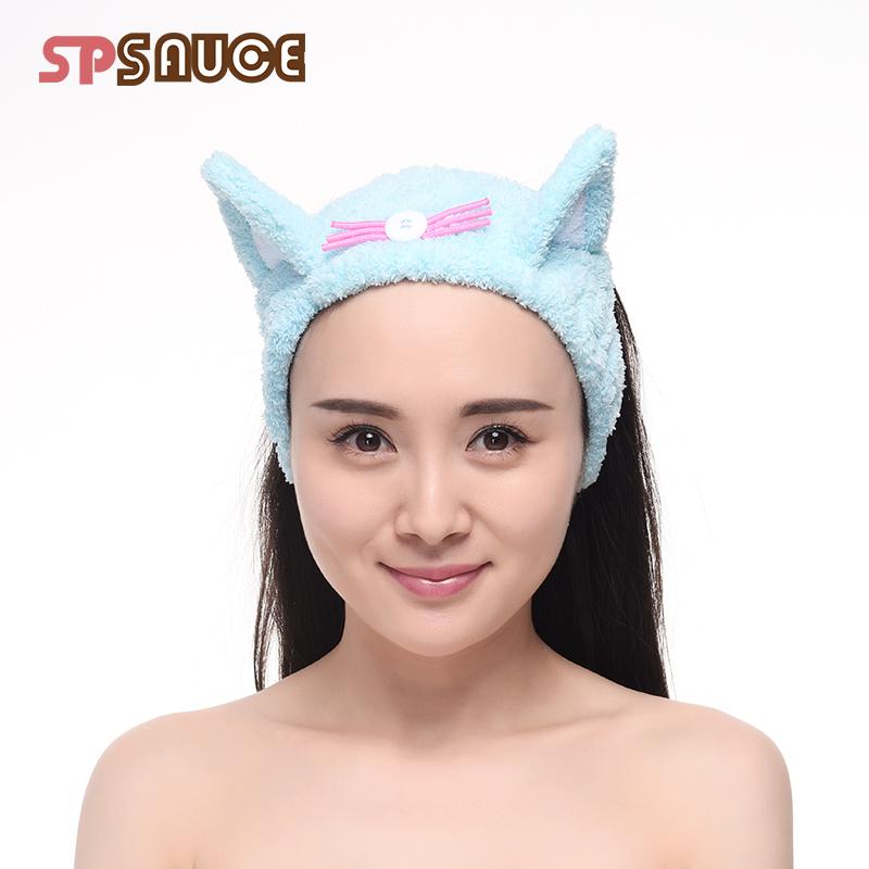 超强吸水干发帽加厚浴帽干发巾可爱擦头发速干毛巾包头洗脸束发带