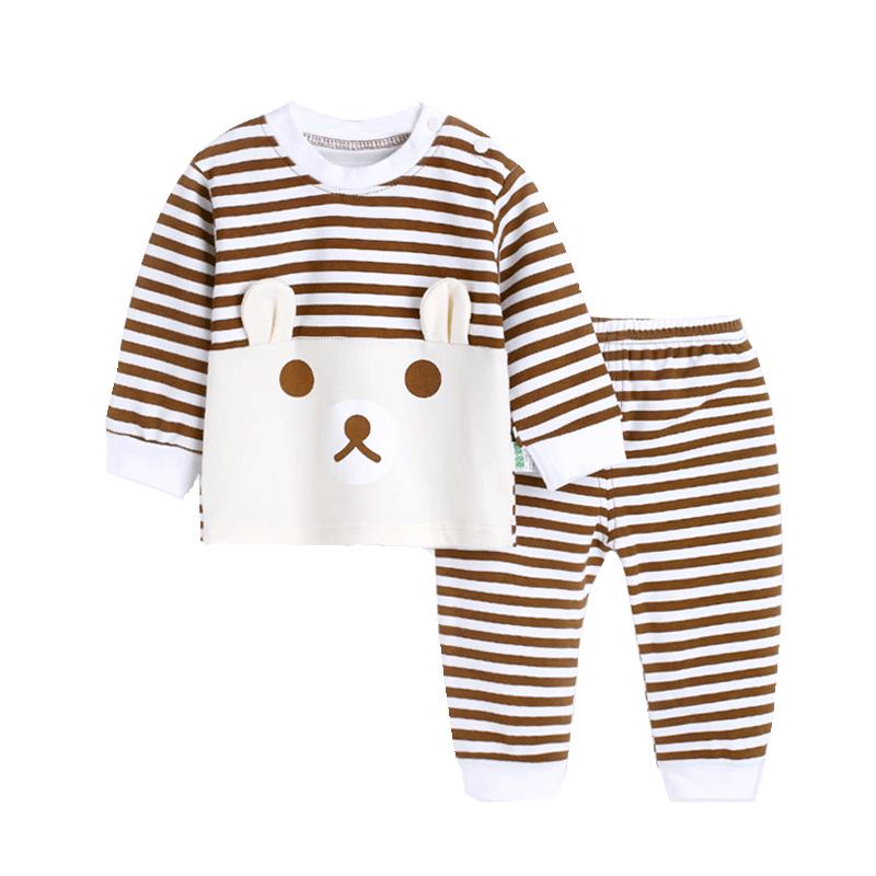 婴儿秋衣套装 纯棉宝宝秋衣秋裤1男童幼儿2女3岁儿童内衣全棉春秋