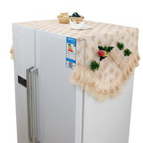 European refrigerator refrigerator Dust dust cloth drape lace sleeve double-door refrigerator door storage Bag