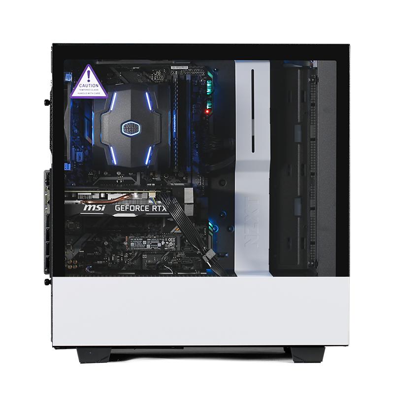 台式游戏电脑主机 RTX2060 1TB 256G 8G 2700 9600K H500 JJBOOM