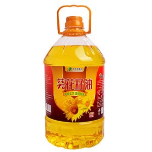 北大荒一级压榨葵花籽油5L