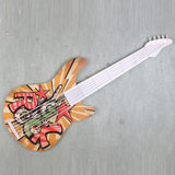 American country model guitar wall hangings fashion personality creative process KTV wall window decoration ornaments