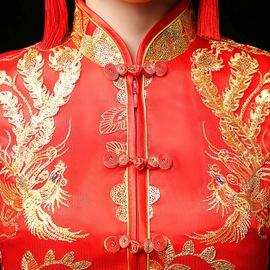 秀禾服新娘2020新款中式婚纱礼服旗袍敬酒服结婚女夏季薄款中国风