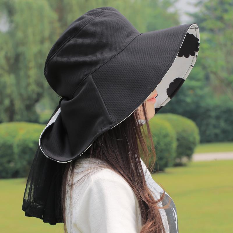 。防晒面纱挡风遮全脸脸部防沙透气防护罩围巾耳罩防晒服配饰清新