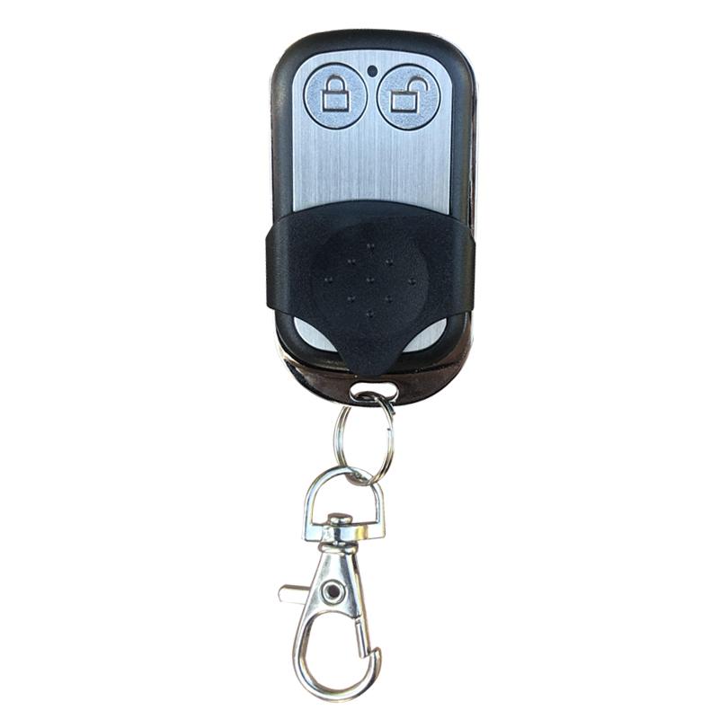 通用兩鍵滾動碼車庫門翻板門遙控器萬能學習型大板門電動門遙控器
